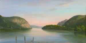 Sunrise over Storm King, Cold Spring Waterfront