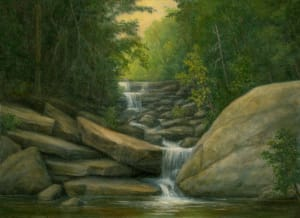 Cascading Falls, Platte Clove, Catskills
