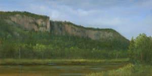 Cliffs along River Road, Adirondacks