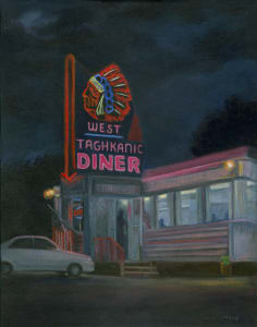 Quiet night,  West Taghkanic Diner