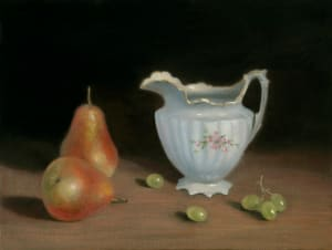 Cream Pitcher and pears
