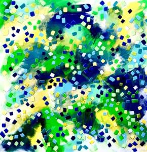 Mosherstudios barbaramosher confetti mixed media 40x40 prmalh