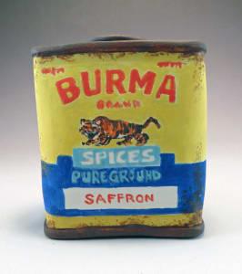 Burma Spice Saffron Spice Tin