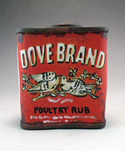 Dove Brand Poultry Rub Spice Tin