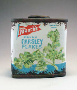 French's Parsley Flakes Spice Tin