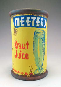 Meeter's Kraut Juice Can Cup