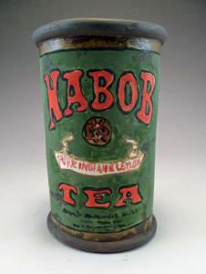 Nabob Tea Can Cup