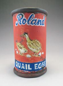 Roland Quail Eggs Can Cup