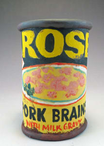 Rose Pork Brains Can Cup