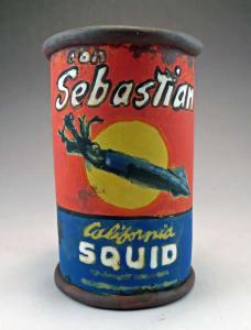 Sebastian Squid Can Cup