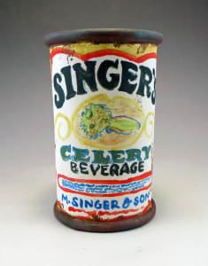 Singer's Celery Beverage Can Cup
