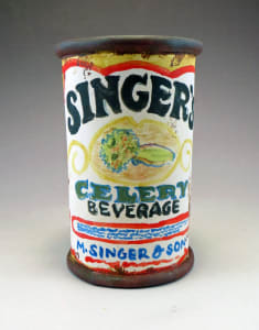 Singer's Celery Beverage Can Cup