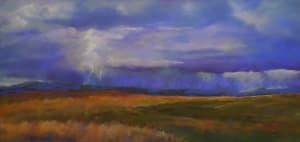 Storm over Belt Creek Ranch