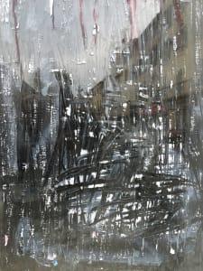 Smeared Window