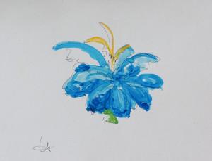 Blue flower oyckr3