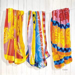 Three Beach Towels