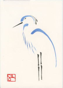 Bird Series - Heron