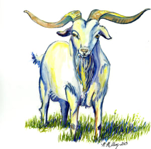 Goat painting1 gowp9o