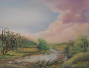 Dimitrinakutriansky colors of stillness pastel 10x12 300 kit41q