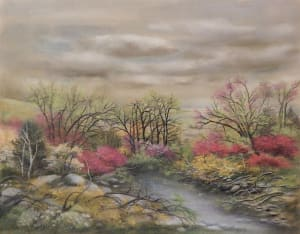 Dimitrinakutriansky springtime pastel 12x18 400 nhxi0t