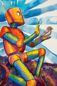 Bird in the Hand Robot