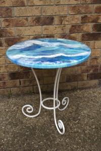 Ocean Shadows - Patio or Coffee Table