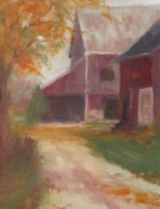 Autumn's Misty Morning