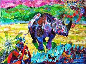 """ Guardian Angels of the Black Rhino """