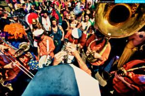 Ben Schenck & the Panorama Brass Band - Mardi Gras Day