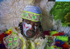 Mardi Gras Indian Study #2 - Super Sunday