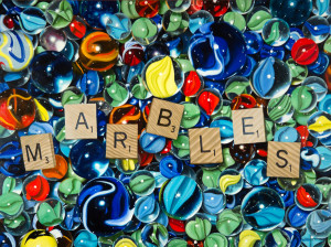 Marbles for 11 points   web actbqz