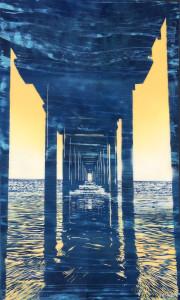 Under Scripps Pier
