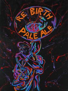 Rebirth Pale Ale Label Concept Center