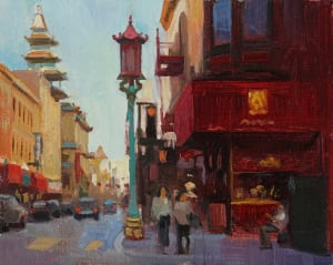 Chinatown Lamp - Study