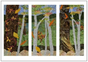 Early Autumn Triptych
