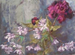 Peony & Cherry Blossom