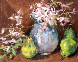 Pears, Cherry Blossoms