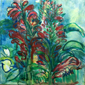 Botanical Garden 60, Cardinal Flower 2
