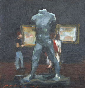 Rodin Walking Man