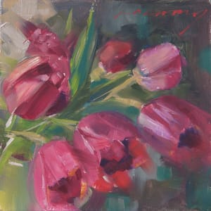 Tulips on a Box 1