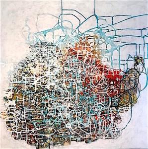 Memory tangle.36x36
