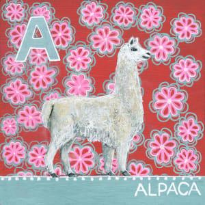 A for Alpaca