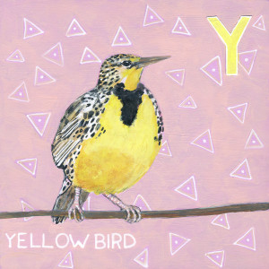 Y for Yellow Bird