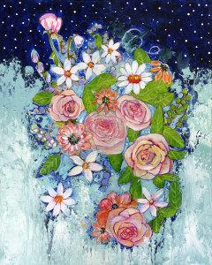 Celestial Sky Flower Garden