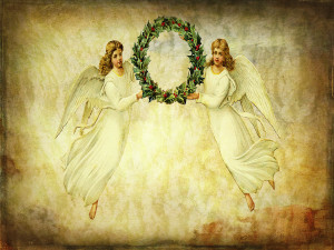Angels and Wreath