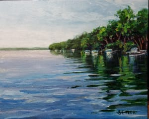 Peace and Calm Waters