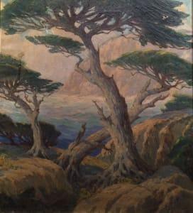 Cypress Trees, Monterey - George J. Stengel
