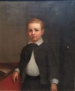Portrait of Wilbur Wells Flagg - Unknown