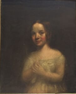 Portrait of Caroline Ewing - Unknown