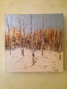 Aspens in the Snow, #2